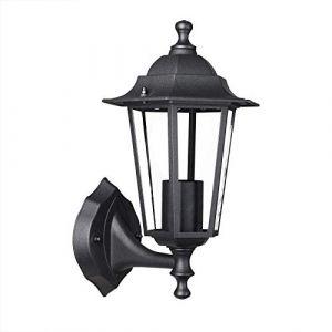 Lampadaire extérieur Krysante alu moulé réverbère lampe jardin lumière extérieure candélabre lanterne chemin (FR-DEUBA, neuf)