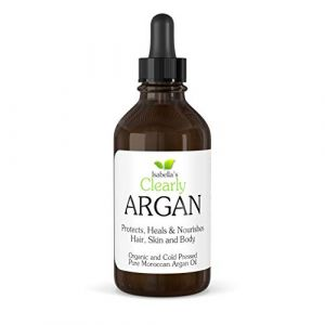 Isabella's Clearly ARGAN Oil for Hair, Skin, Face, Nails - Best 100% Pure Premium Moroccan Oil - Anti Aging, Anti Wrinkle, Nourishing Cold Pressed Moisturiser. 120ml (Isabella's Clearly UK, neuf)