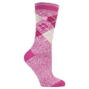 Heat Holders Lite - Femme chaudes thermiques Chaussettes décontractée en 5 couleurs, 37-42 Eur. (Abbey) (Sock Snob Ltd, neuf)
