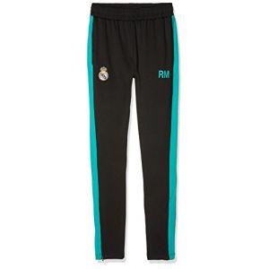 Real Madrid Rma-Se-4000 - Pantalon de Survêtement - Mixte Enfant - Noir - Taille: 10 Ans
