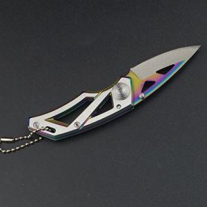 Handfly Pliant Couteau Multifonction Pliant Portable Camping Mini Survie Tactique Survie Outil Couteau de Chasse (HandFly, neuf)