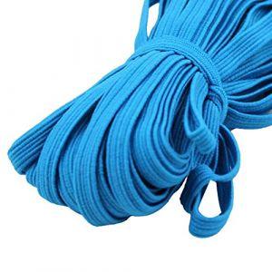 dljztrade Corde De Bande élastique De 33 Mètres Pour La Couture De Bracelet De Collier De Cahier De Bricolage Bleu foncé (dljztrade, neuf)