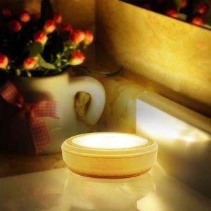 HueLiv Lampe à LED sans fil, avec Détecteur de mouvement, Fonctionnement sur Piles, pour Placard, Armoire et Cabinet (2 pcs) (lbltech, neuf)