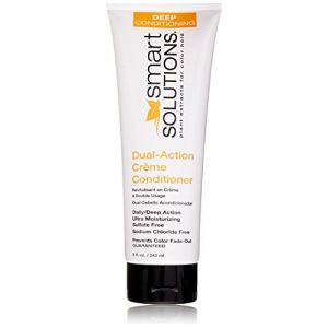 Smart Solutions Dual Action Creme Conditioner, 8 Fluid Ounce by Smart Solutions (Stylogenic, neuf)