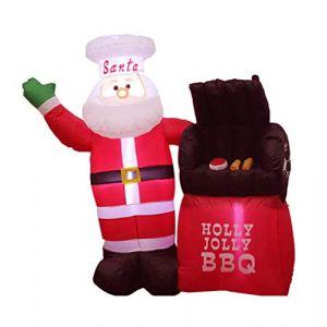 Décoration De Jour De Noël De Noël Gonflable Gonflable, Gonflable Gonflable Et Mignon De Noël De Décorations Et De Ventilateurs Gonflables (Good Life 2020, neuf)