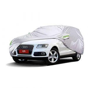 LXY1,Bâche Voiture Audi Q5 SUV Extérieur Couvert épais en tissu Oxford Tissu Protection contre la pluie Chaude Couverture spéciale chaude (taille : 2018) (Denim Home, neuf)