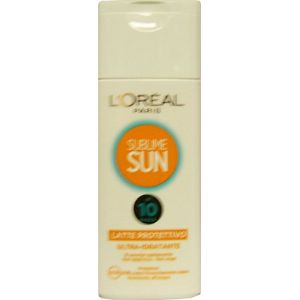 Sublime Sun Lait Protecteur ultra-idratante Blanc FP10 200 ml (Outlet Makeup, neuf)