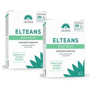Jaldes Elteans Nutrition de la Peau Lot de 2 x 60 Capsules (PHARMACIE CENTRALE, neuf)