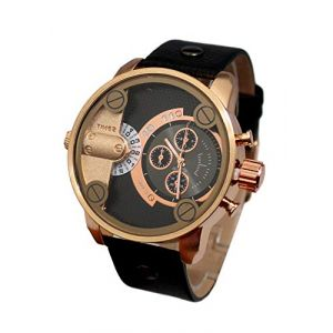 Montre Homme Cadran XXL Double Affichage Only The Brave (MONTRE-STYLE, neuf)