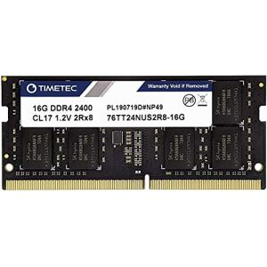 Timetec Hynix IC DDR4 2400MHz PC4-19200 Unbuffered Non-ECC 1.2V CL16 1Rx8 Single Rank 260 Pin SODIMM Laptop Notebook Computer Memory RAM Module Upgrade (16GB) (Timetec Inc Europe, neuf)