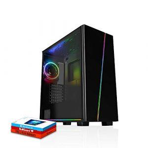 Fierce Cheetah High-End RGB/RVB PC Gamer - Vite 4.7GHz Hex-Core Intel Core i7 8700K, 240Go SSD, 1To Disque Dur, 16Go 3000MHz, NVIDIA GeForce RTX 2070 Super 8Go, Windows 10 installé 505026 (Fierce PC Limited, neuf)