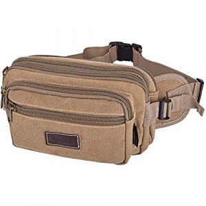SUNSEATON Grande Sac Sacoche Banane, Randonnée Sac, besace Pour Course / Randonnée / Cyclisme /pour Outdoor Sport-Homme et Femme (SUNSEATON WORLD LINE LTD, neuf)