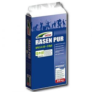 Cuxin DCM gazon pur 25kg Profi Engrais à gazon avec effet contre Mousse (agrarshop_online, neuf)