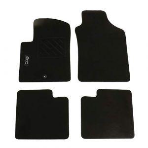 Jeu de tapis de sol d'origine en caoutchouc/velours pour Fiat 500500C jusqu'à année de construction 2012OE 71806383 (Augustin Group GmbH & Co.KG, neuf)