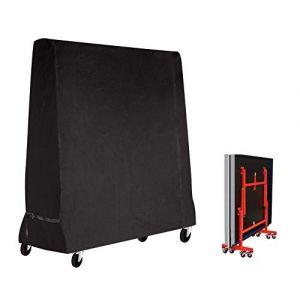 Fayttoli Premium Taille complète Housse de Tennis de Table Ping Pong Table Housse étanche Intérieur/extérieur (185 × 70 × 165 cm) Noir (Fayttoli, neuf)