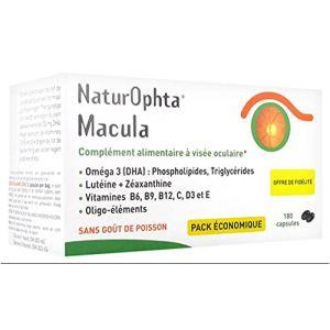 Horus Pharma - Naturophta Macula 3x60 Capsules (WEBPARA, neuf)