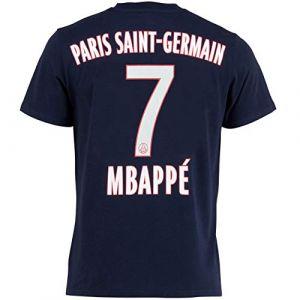 T-shirt PSG - Kylian MBAPPE - Collection officielle PARIS SAINT GERMAIN - Taille enfant garçon 14 ans (MISTERLOWCOST, neuf)