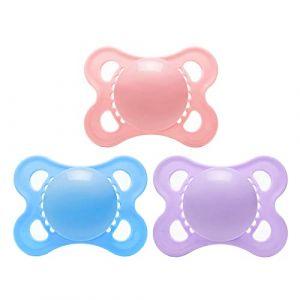 LittleForBig Bigshield Génération-3 Sucette Taille Adulte lot de 3-Rose/Violet/Bleu (Littleforbig, neuf)