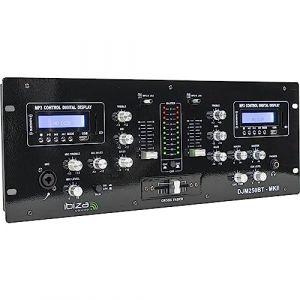 Ibiza 15-2381 DJM250BT-MKII Table de mixage (AS-Discount, neuf)