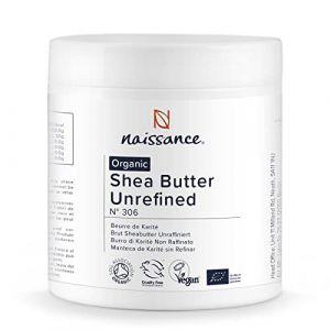 Naissance Beurre de Karité Brut BIO (n° 306) - 500g - 100% pur, non raffiné, naturel et certifié BIO - Malaxé à la main - végan - Approvisionnement éthique et durable au Ghana (Naissance - expédié depuis le Royaume-Uni, neuf)