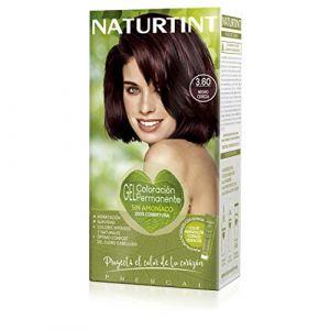 Naturtint   Coloration permanente   100% Couverture Cheveux Blancs   Couleur Naturelle et Longue Durée   Teinture Sans Ammoniaque   3.60 CERISE NOIRE (LABORATORIOS PHERGAL, S.A., neuf)