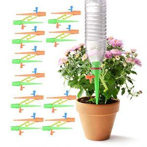 Colmanda Irrigation Goutte à Goutte Kit, 20 Pièces Arrosage Plantes Automatique Réglable Irrigation de Plante Automatique Plantes Irrigation Système pour Plante Intérieur Et Extérieur (Colmanda, neuf)