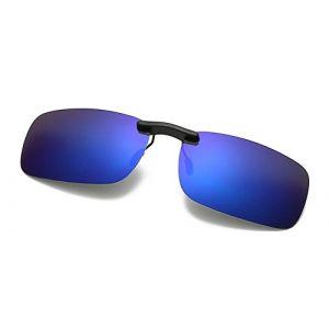 DAUCO lunettes de soleil polarisantes clipsables unisexes adaptées aux myopes et à la vision nocturne YYBG w5CygNVPJ