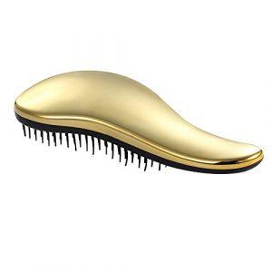 Contever® Professionnel Peigne Cheveux Anti-Statique à Défriser Peigne - Lisseur masseur (Or) (continu218, neuf)