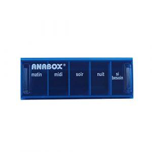 ANABOX - Pilulier Anabox journalier bleu ciel (BIVEA, neuf)