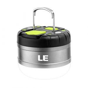 LE Lanterne LED Rechargeable, Fonction de Batterie Externe 3000mAh, 3 Modes 280 Lumens 12 LED, Etanche Légère Magnétique, Eclairage pour Camping Bivouac Maison Cave Bricolage Pêche (Home MART, neuf)