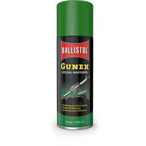 Ballistol Gunex Huile pour Armes et Protection Contre la Rouille 500 ML (Waffenpflegewelt, neuf)