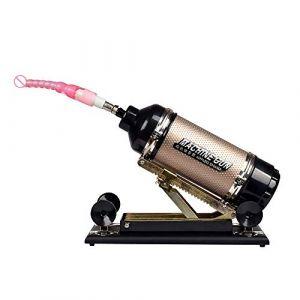 hommes et femmes super amour sex machine automatique à poussée rapide télescopique G point arrière machine et équipement (or)(10) (Cxm-uk, neuf)
