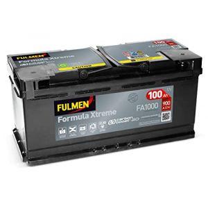 Fulmen–Batterie voiture FA100012V 100Ah 900A (BATTERYSET, neuf)