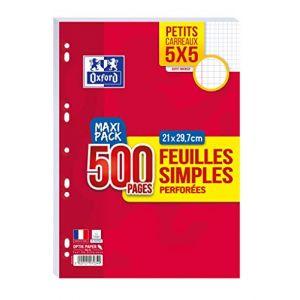 oxford feuilles simples comparer 26 offres. Black Bedroom Furniture Sets. Home Design Ideas