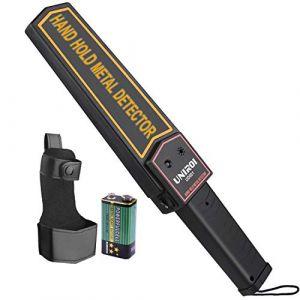UNIROI Détecteur de Métaux Léger - Metal Detector Sensible pour Détecter Métaux, produits électroniques, marchandises interdites UD001 (UNIROI UK, neuf)