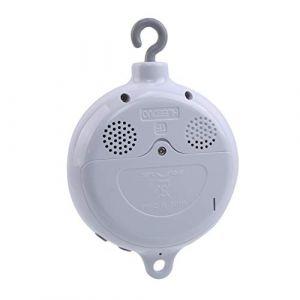 Lalang Boîte à Musique électrique Mobile pour Bébé avec 128M carte micro SD et 12 Chansons (88_Store, neuf)