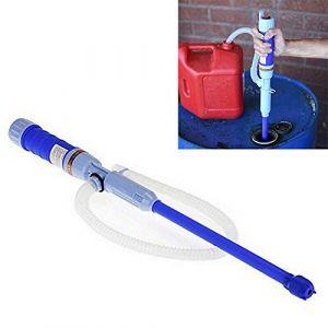 Coriver Pompe à Eau portative à Piles, Pompe Diesel, Pompe de Transfert électrique, Pompe à Siphon de Carburant, Pompe à Huile, Pompe à Essence, Pompe d'aspiration d'eau Bleu (Coriver, neuf)