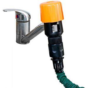 Adaptateur universel de robinet pour tuyau d'arrosage (Pearl Diffusion, neuf)