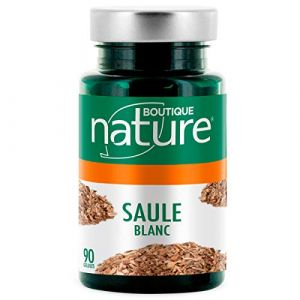 Saule blanc - 90 gélules - Douleurs avec l'aspirine végétale (Oleifera, neuf)