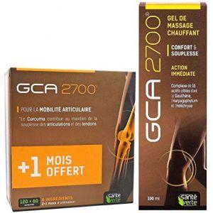 Santé Verte - Confort Articulations GCA 2700 KIT COMPLET - 3 Mois de traitement + Gel de MASSAGE (WEBPARA, neuf)