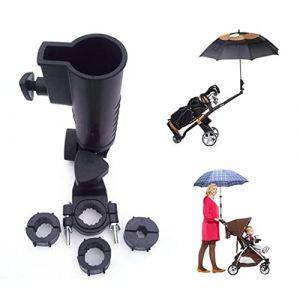 Parapluie universel, support de 15 mm, 25 mm 30 mm 38 mm Poignée en option connecteur Tailles pour chariot de golf, vélo, bébé Poussette, Pêche Plage Chaise (Muttiy, neuf)
