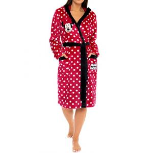 Disney - Robe de Chambre - Minnie Mouse - Femme - Rouge - Small (Character FR, neuf)