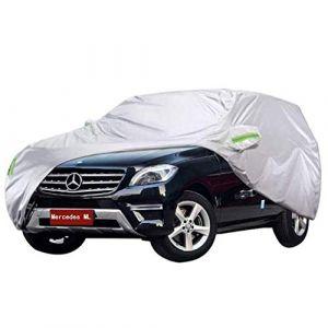 LXY1,Bâche Voiture Mercedes Benz ML Series Housse de voiture spéciale SUV épais Oxford Tissu Écran solaire intérieur Extérieur (taille : Mercedes-Benz ML350) (Denim Home, neuf)