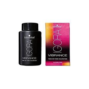 Schwarzkopf Coloration ton sur ton sans alcool 4.13 Châtain moyen cendré mat, (GOUIRAN BEAUTÉ, neuf)