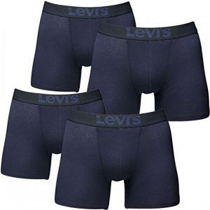 Levi's - 4 Pack de Boxer - Uni - Homme Boxer Shorts, Bleu (Mid Denim) - Small (Yourfashionplace, neuf)