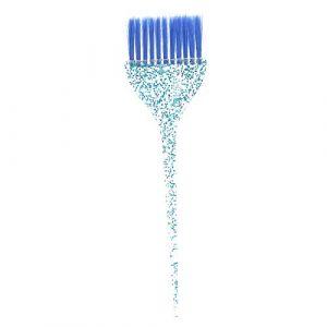 Brosse de Teinture pour Cheveux, Ensemble de Coloration de Cheveux, Poignée de Paillettes Brosse de Coloration de Cheveux Brosse de Coloration de Cheveux Exquise Accessoires de Coiffure(#3) (Greeflu, neuf)