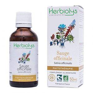 HERBIOLYS - Phytothérapie extrait de Sauge Bio - 50 ml (BIVEA, neuf)