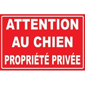 Attention au chien propriété privée (tsmevpc, neuf)