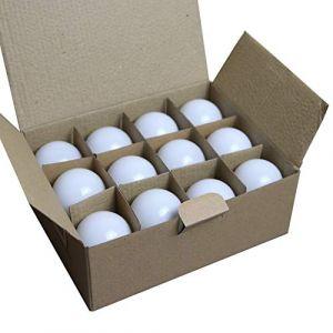 Limão - Lot de 12 ampoules LED B22 1,5W - 110 Lumens - Blanc Chaud incassables (équivalent 15W) pour Guirlande Extérieure - Ergots renforcés (Limão Officiel, neuf)