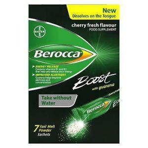 Berocca Boost 20Comprimés rapide Melt Poudre 7Sachets (au discounter santé, neuf)